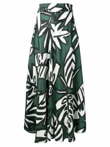 Altea plant print skirt - Green