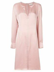 Mansur Gavriel v-neck tunic dress - Pink
