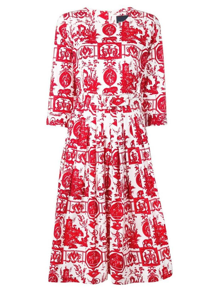 Samantha Sung Florance dress - Red