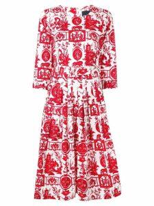 Samantha Sung Florance dress - Red