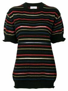 Sonia Rykiel striped jumper - Black