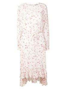 Essentiel Antwerp floral print midi dress - Pink