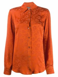 Alexa Chung tonal floral print shirt - Orange