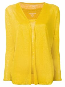 Majestic Filatures cardigan twin set - Yellow
