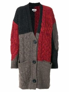 Isabel Marant Étoile cable-knit cardigan - Red