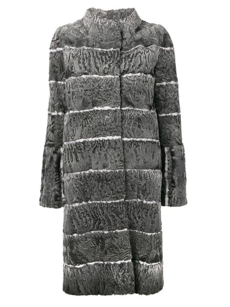 Liska Moser fur coat - Grey