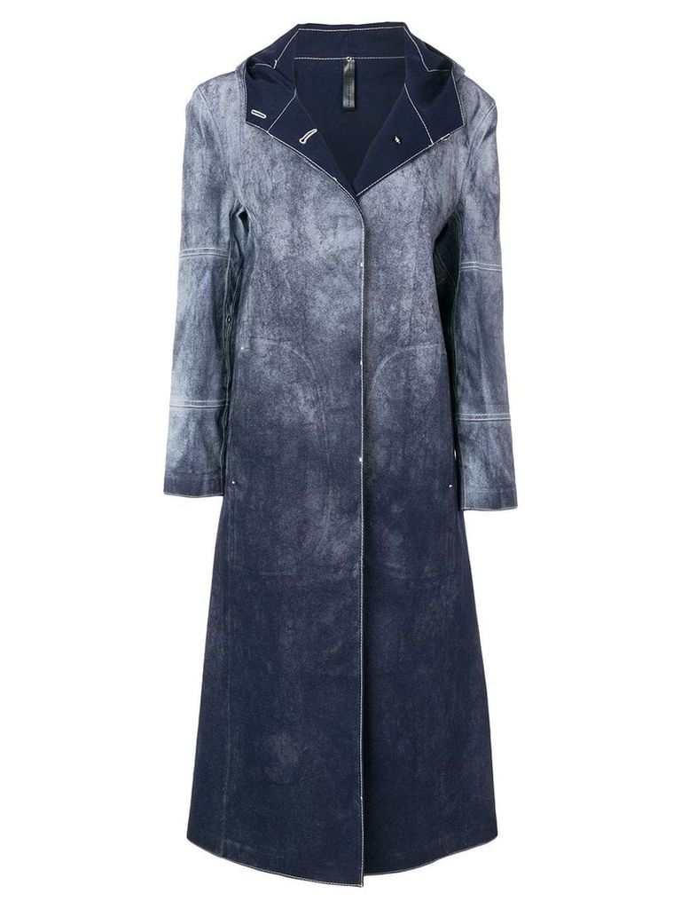 1017 ALYX 9SM oversized button coat - Blue