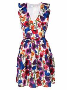 Borgo De Nor floral ruffle flare dress - Multicolour