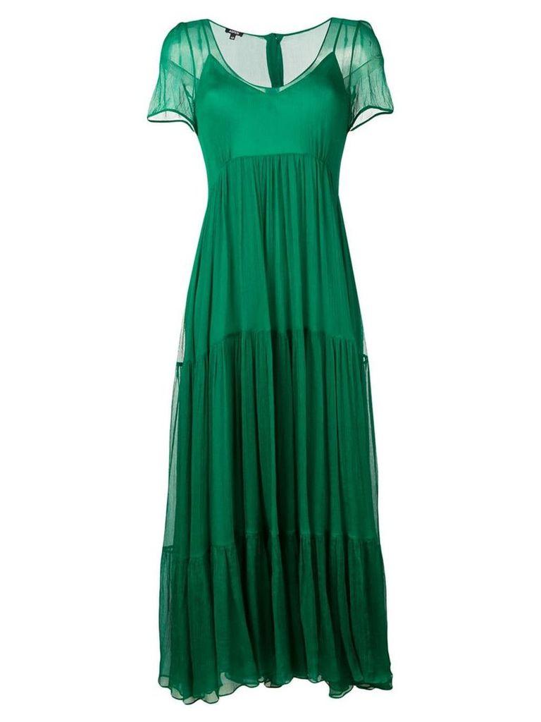 Aspesi ruffled dress - Green