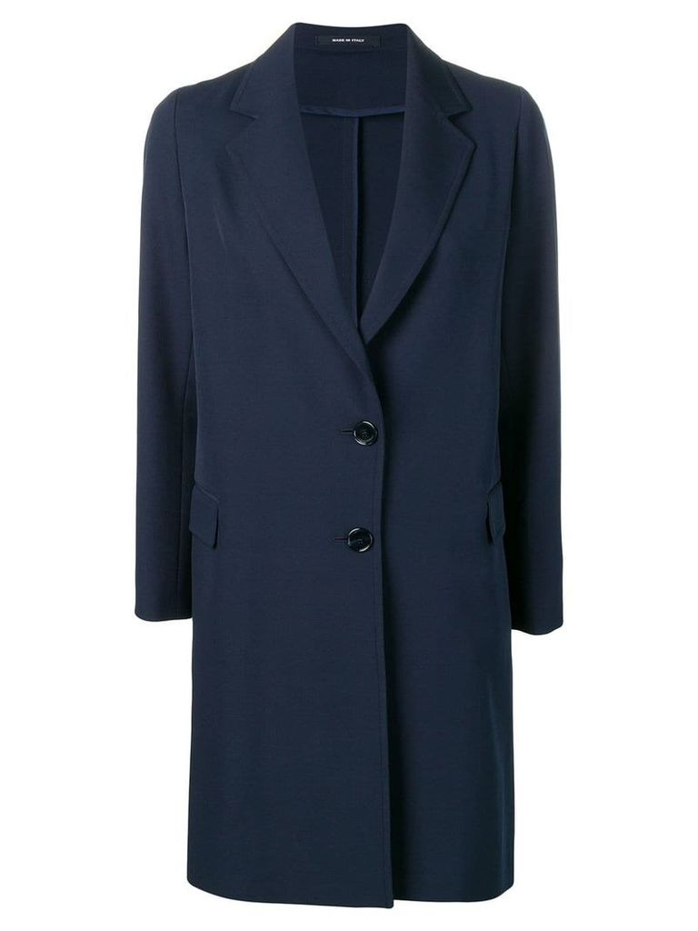 Tagliatore loose fitting blazer coat - Blue
