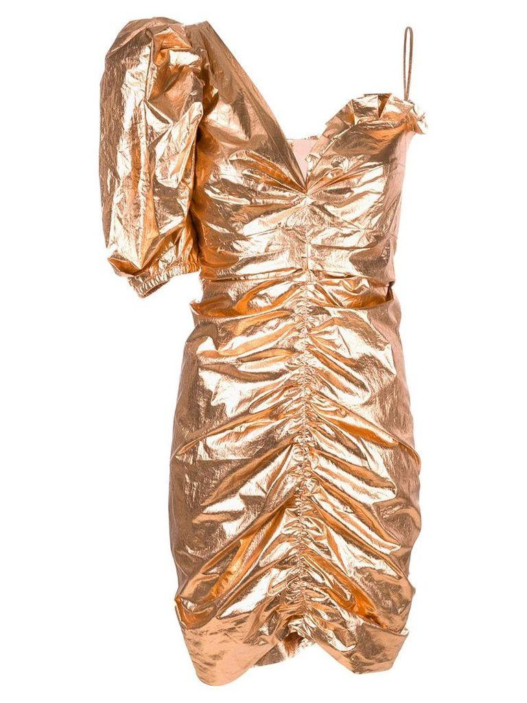 Isabel Marant metallic Talma dress - Gold