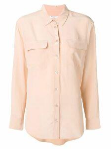 Equipment classic satin shirt - Neutrals