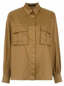Andrea Marques military shirt - Green