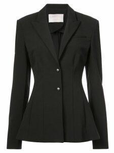 Jason Wu Collection smocking detail jacket - Black