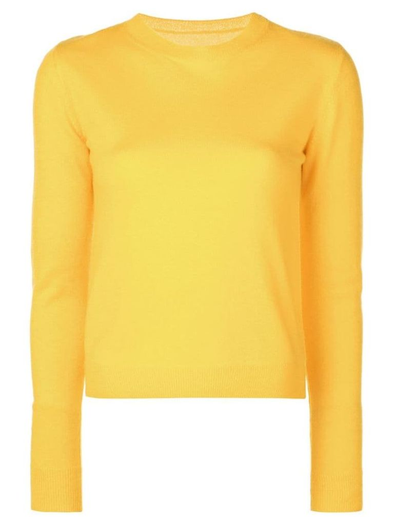 The Elder Statesman Billy sweater - Yellow