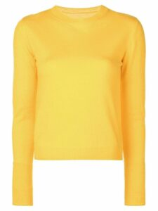 The Elder Statesman Billy sweater - Yellow