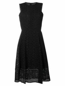 DKNY Beate Eyelet dress - Black
