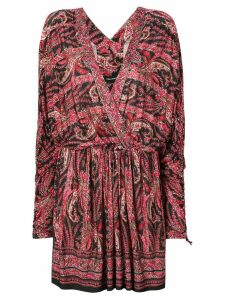 Isabel Marant short printed dress - Black
