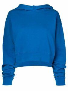 Artica Arbox cropped logo hoodie - Blue