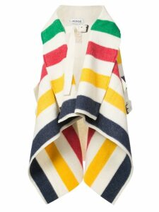 Monse striped waterfall coat - Multicolour