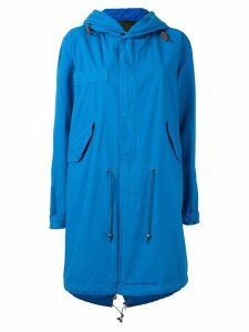 Mr & Mrs Italy hooded parka coat - Blue