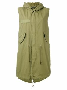 Mr & Mrs Italy sleeveless parka coat - Green