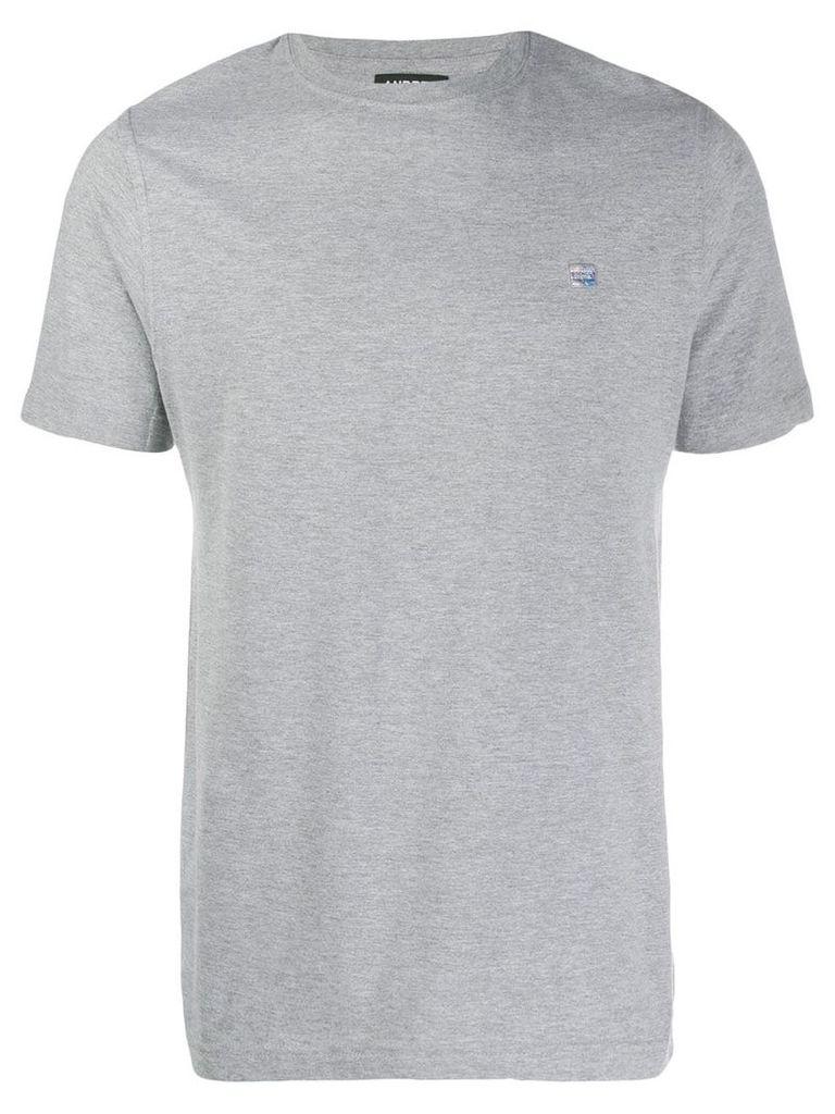 Andrea Crews map print T-shirt - Grey