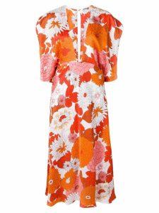 Dodo Bar Or Bernadette floral dress - Orange