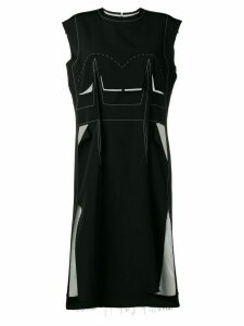Maison Margiela deconstructed dress - Black