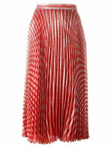 Gucci pleated skirt - Red