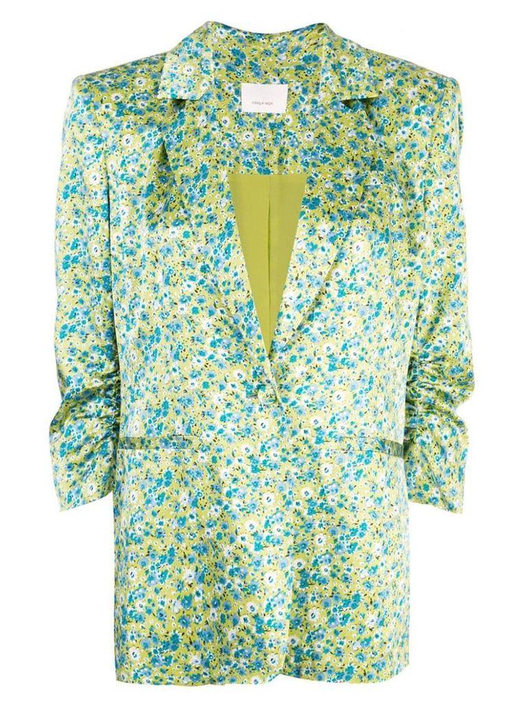 Cinq A Sept wildflower Khloe blazer - Green