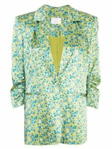 Cinq A Sept wildflower Khloe blazer - Green