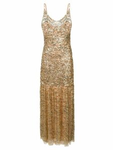 Aniye By sequinned cocktail dress - Gold