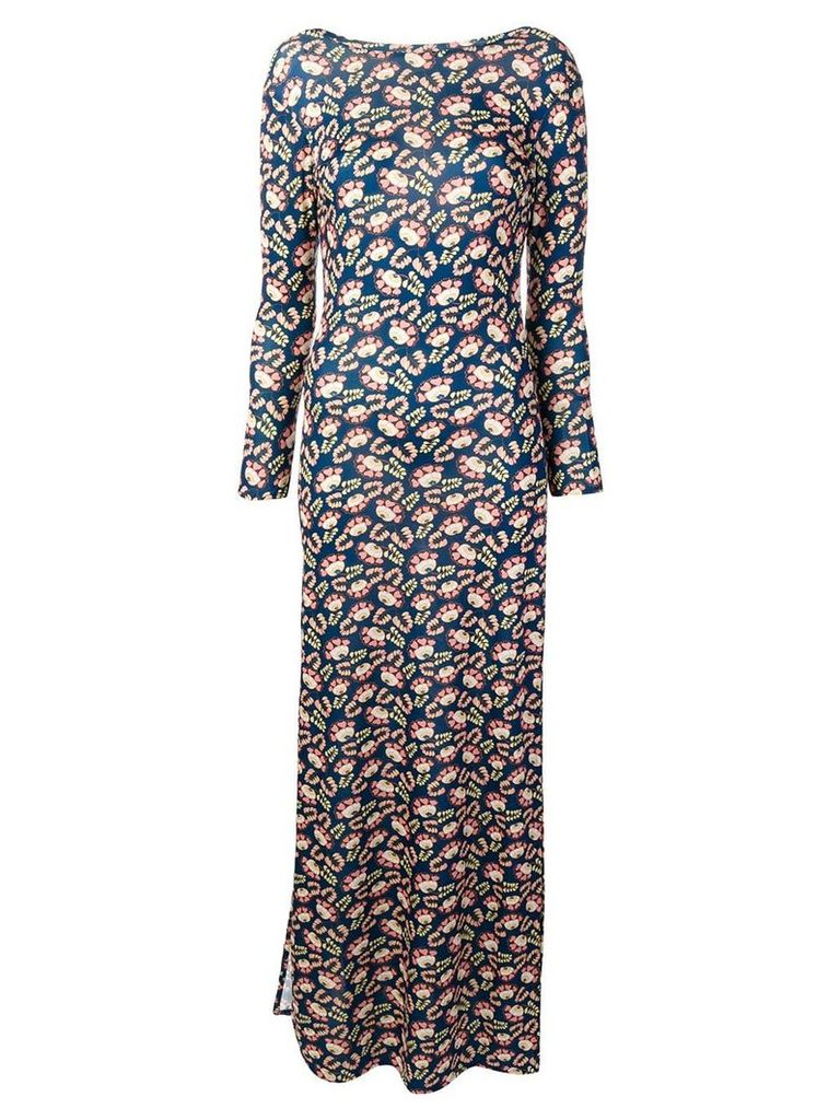C'Est La V.It floral print Elvissa dress - Black