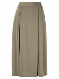 Ballsey flared midi skirt - Green