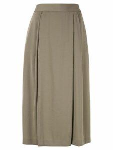 Ballsey flared midi skirt - Green