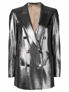 Blazé Milano double breasted blazer - Silver
