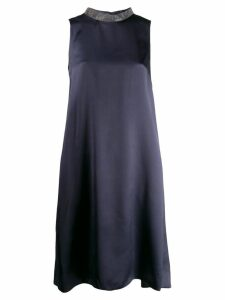 Fabiana Filippi straight-fit dress - Blue