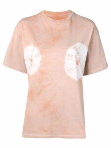 Aries x Jeremy Deller tie-dye T-shirt - Neutrals