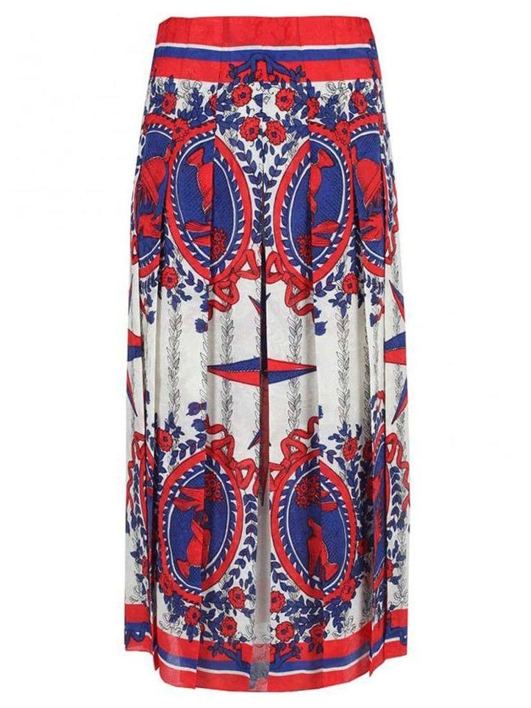 Gucci regency print skirt - Multicolour