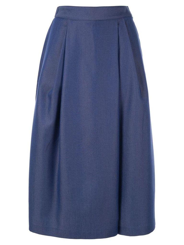 Ballsey flared midi skirt - Blue