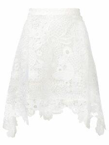 Antik Batik Thelma lace skirt - White