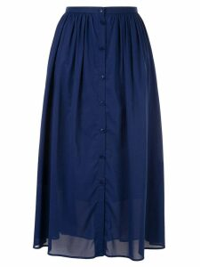 Ballsey flared midi skirt - Blue