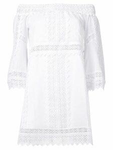 Charo Ruiz short Ankaa dress - White