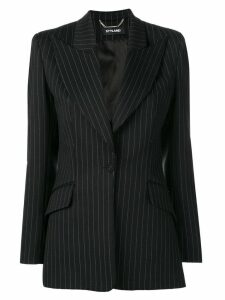 Styland striped blazer jacket - Black