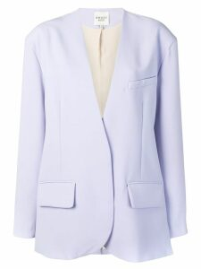 A.W.A.K.E. Mode oversized blazer - Purple