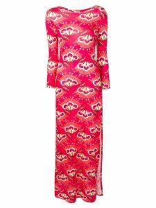 C'Est La V.It floral print fitted dress - Pink