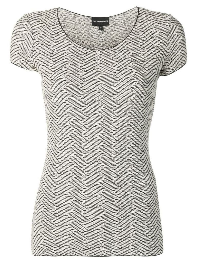 Emporio Armani knitted top - Neutrals