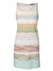 Missoni striped jacquard dress - Neutrals