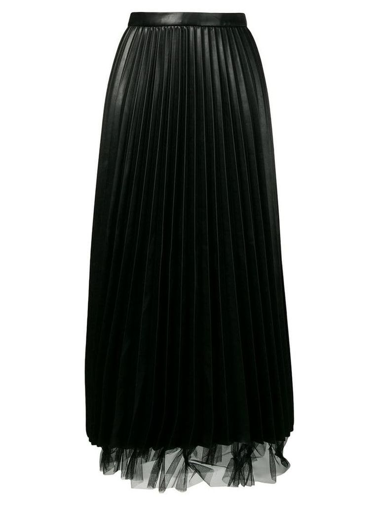 Ermanno Scervino pleated skirt - Black